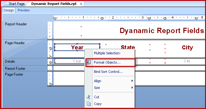 Crystal Report w Dynamic Report Field Selection 3