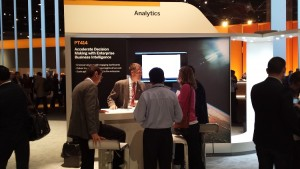 SAP Analytics booth