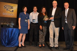 InfoSol's Best Business Dashboard Award goes to PAMF