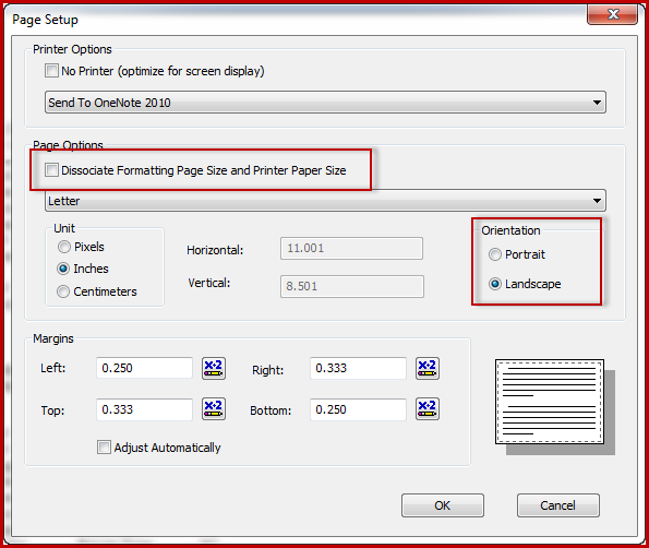 2. crystal reports export to Excel - dissociate formatting page options