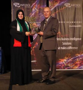 UAE Ministry of Health Most Valuable Dashboard Award Winner IBIS 2016